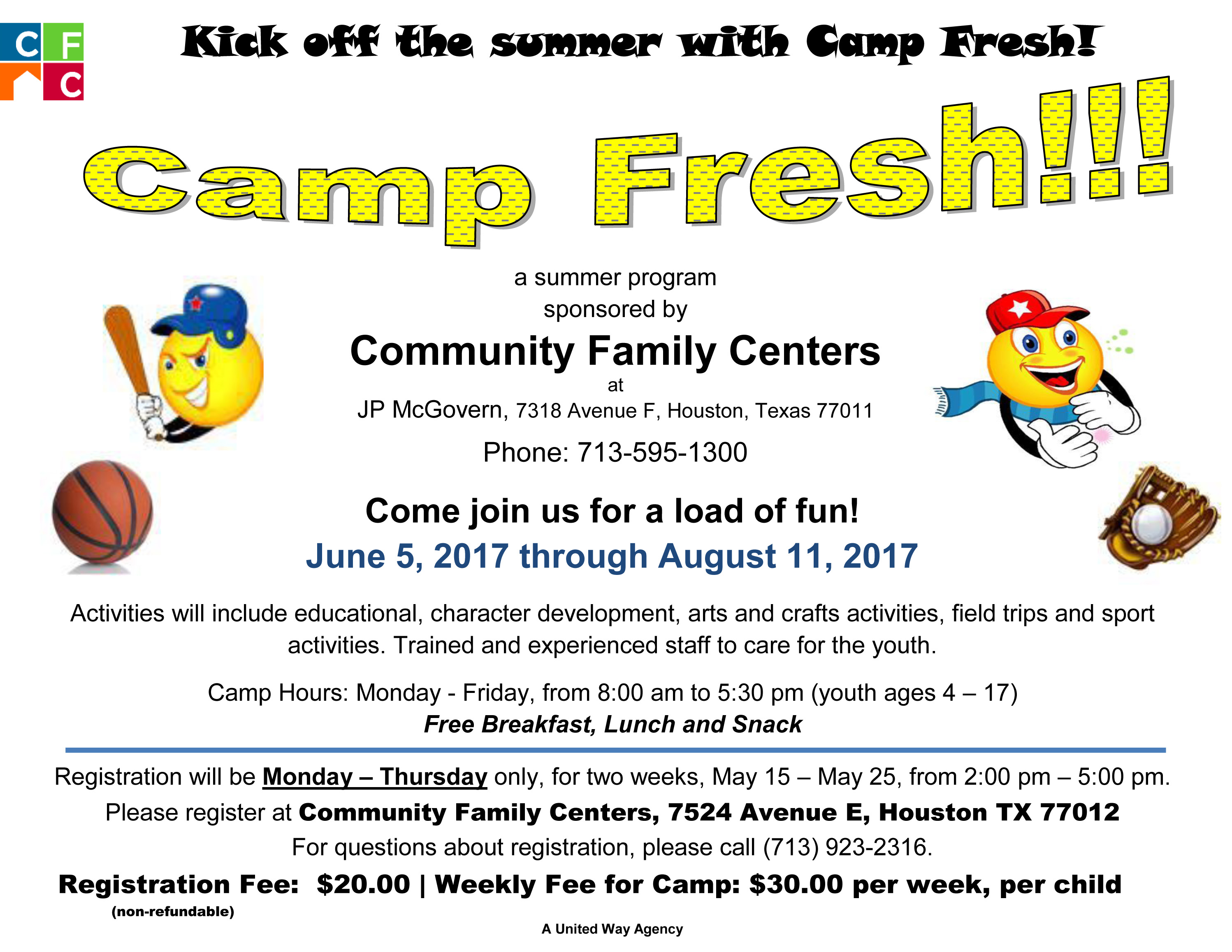 CFC's Camp Fresh
